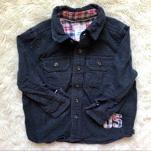 Joe Fresh Long Sleeved Button Down Shirt Size 2T